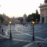 Capitoline Hill, Rome -Image of Tiber Limo Rome, Italy
