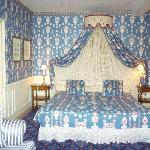 bedroom at Courcelles
