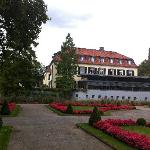 Schloss Berge vom Park aus