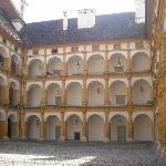Innenhof vom Schloss Eggenberg