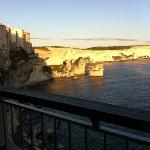 vue du balcon U Castille