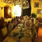 Sensational Italian food served in classy dining room