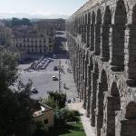 Aqueducto Segovia from Restaurant