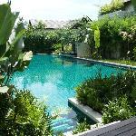 プールアクセスルームサラからの風景