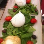 mozzarella tasting plate