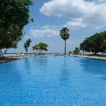 Pool & beach at Chaaya Blu