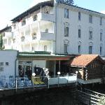 Hotel from the river side