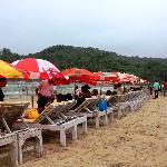 Baga beach - so close