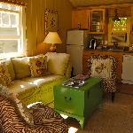 Inside lounge/kitchen