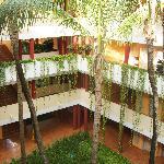 Innenhof des Hotels
