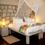 Kalahari Farmhouse Guest Room