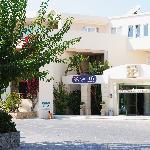 Entrée de l'hôtel Rethymno Palace