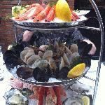 le fabuleux plateau de fruits de mer
