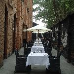 le restaurant, cote terrasse