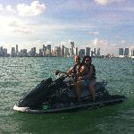 Infront of Downtown Miami Skylines
