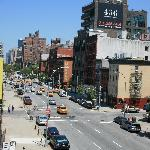 View of New york street taken from the High Line