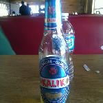 What's left of my nice cold Kalik