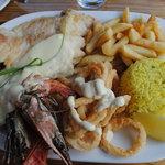Seefood platter