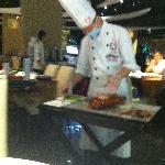 le canard arrive a notre table