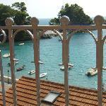Från vår balkong