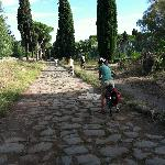 View of Appia Antica bike path
