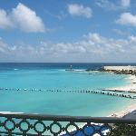 Visto do nosso quarto no Riu Cancun