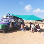 Fun bus transforms into Beach Barbeque Bus! Its multi-purpose!
