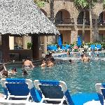 The best part - the pool bar!