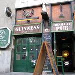 Irish Cat Pub's Entryway