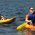 Kayak and nautical activities available
