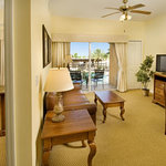 You'll have extra space in our 1-Bedroom Grand Suite