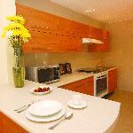 cocina comun, shared kitchen