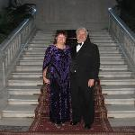 Wife and I on Grand Stair Case