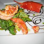 Il Sole di Ranco lobster salad