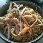 Prawn & soy noodles
