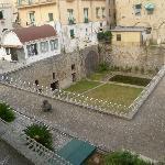 view of Villa Romana from Hotel room balcony