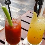 Blood Mary & Passion Fruit Daiquiri