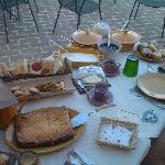 la colazione....tutta per noi!!!!