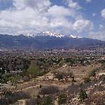 Views of Pikes Peak from Palmer Park