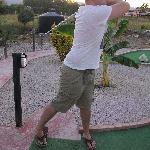 Teeing off!