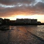 Sunrise over Hotel