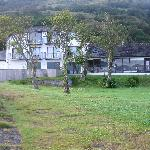 The back of the hotel which looks onto the Loch