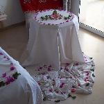 chambre décorée par notre gouvernante