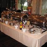 Plenty of hot food