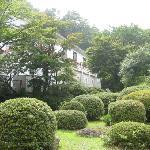 Una parte del giardino del Kanaya