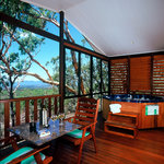 Decks with spa,BBQ and views