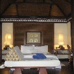slaapkamer van een seavilla