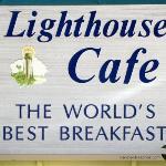 Lighthouse Cafe Sign