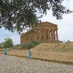El Templo de la  Concordia