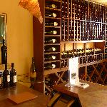 Nice wine tasting and collection room